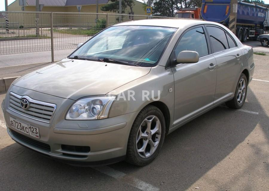 Toyota Avensis, Абинск