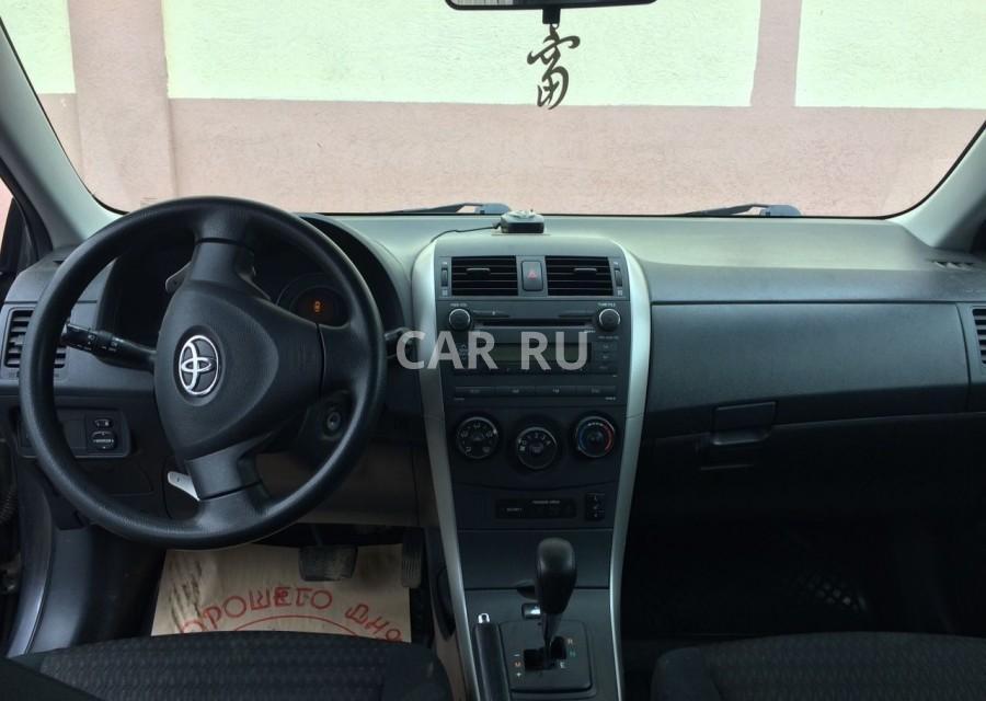 Toyota Corolla, Безенчук