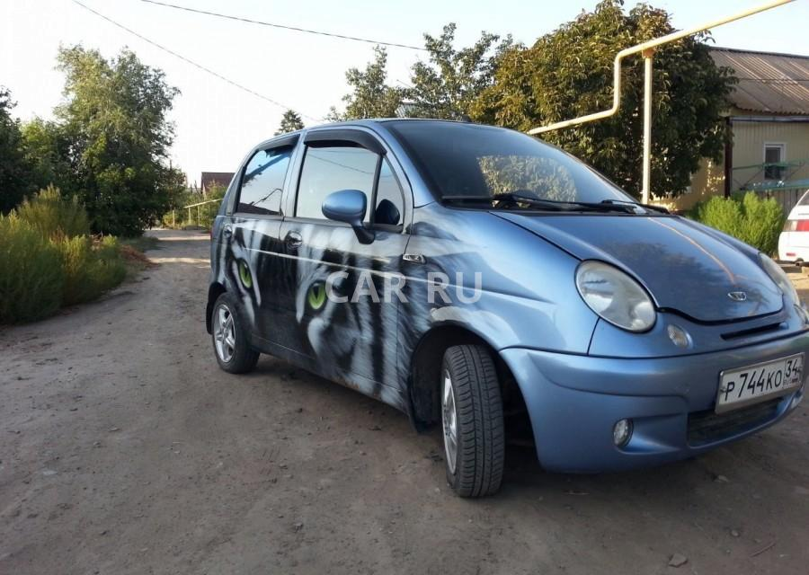 Daewoo Matiz, Ахтубинск