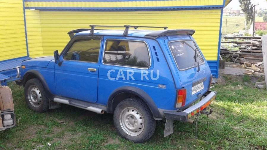 Lada 4x4, Ачинск