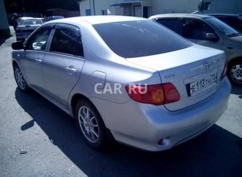 Toyota Corolla, Абатское