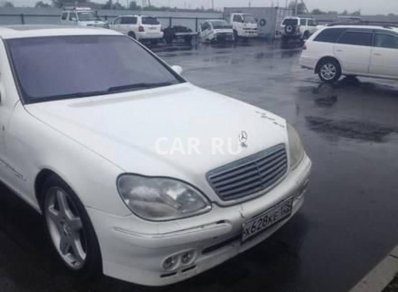 Mercedes S-Class, Владивосток