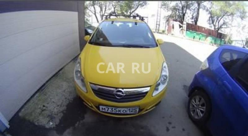 Opel Corsa, Владивосток