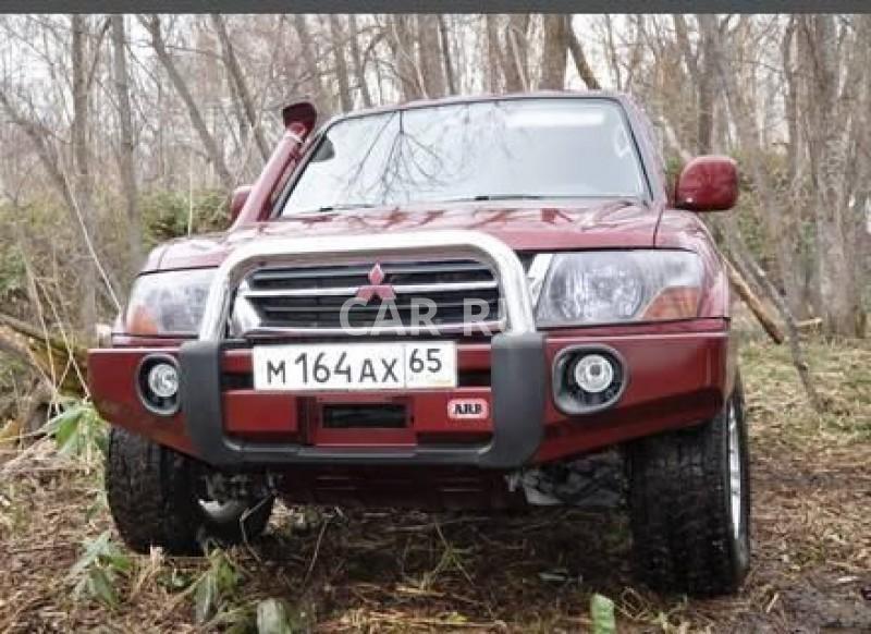 Mitsubishi Pajero, Анива