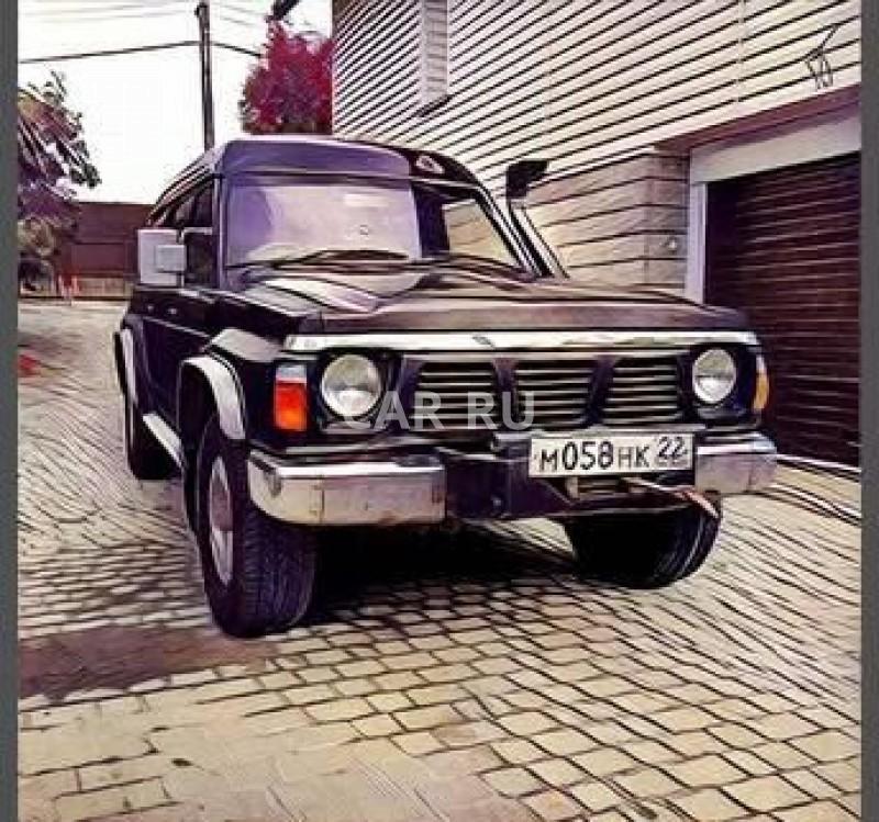 Nissan Safari, Барнаул