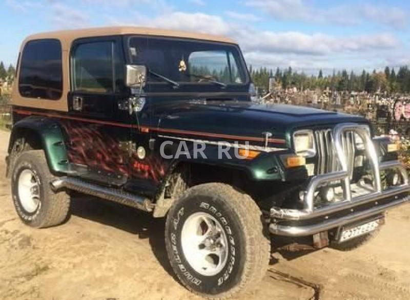 Jeep Wrangler, Архангельск