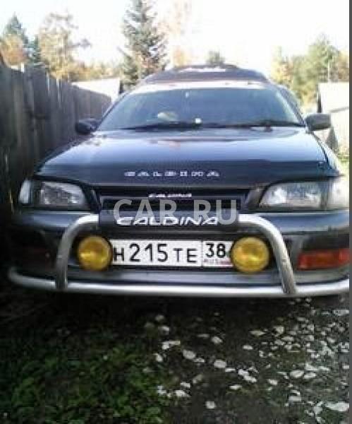 Toyota Caldina, Байкальск
