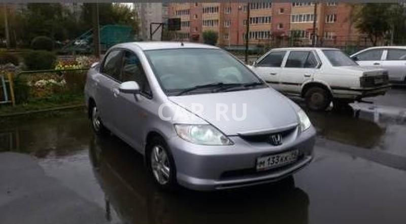Honda Fit Aria, Абакан