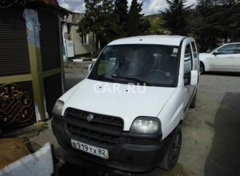 Fiat Doblo, Алушта