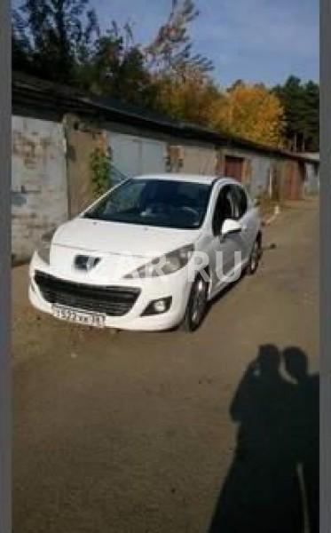 Peugeot 207, Ангарск