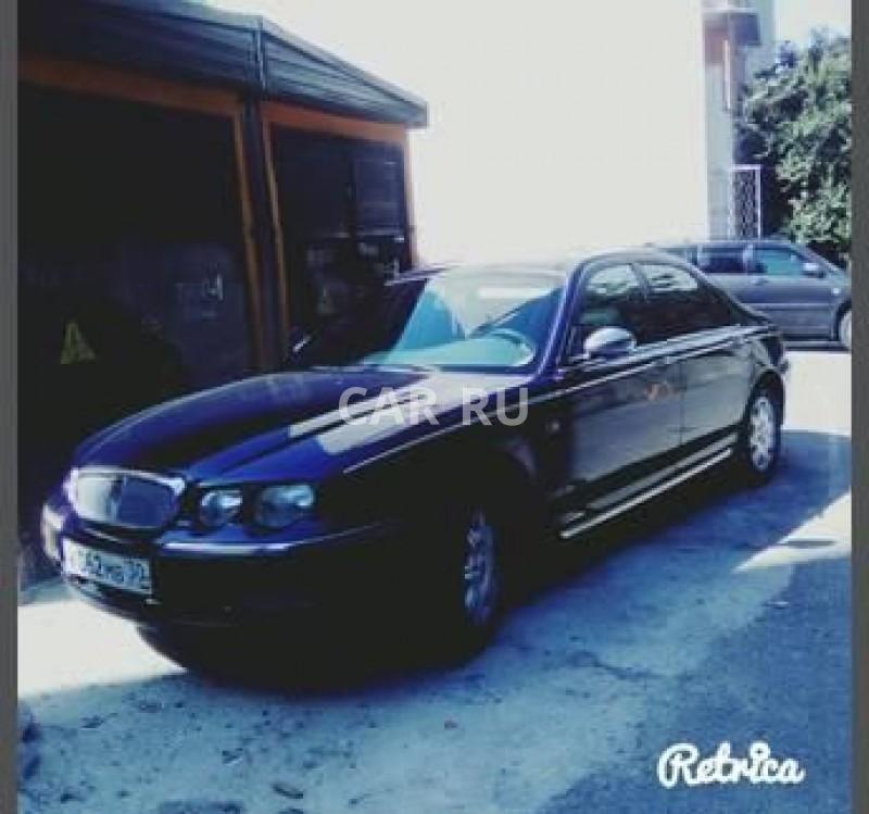 Rover 75, Астрахань