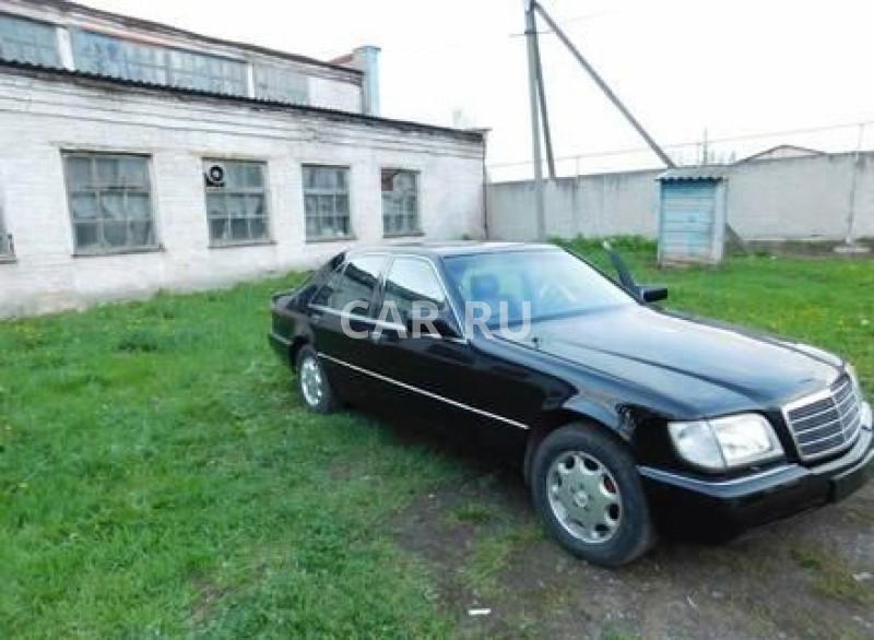 Mercedes S-Class, Алушта