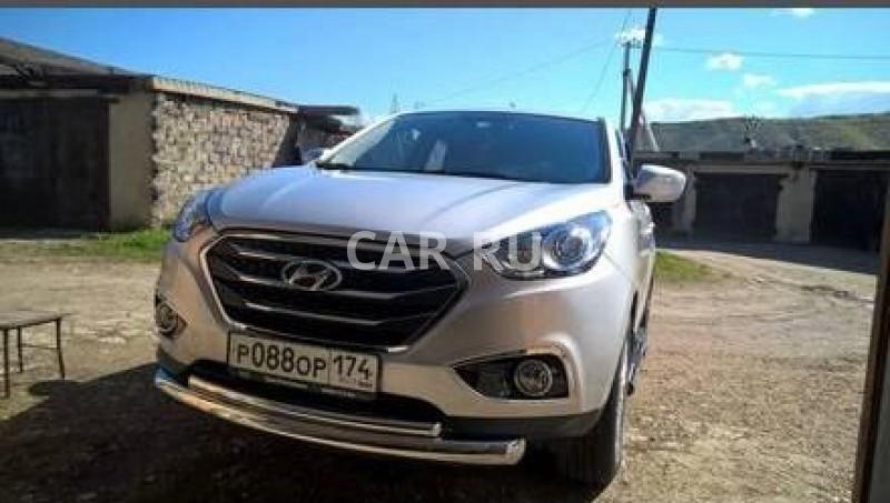Hyundai ix35, Аша