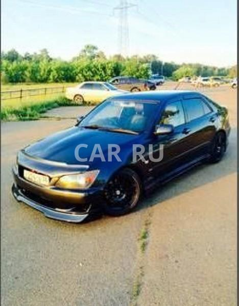 Toyota Altezza, Ангарск