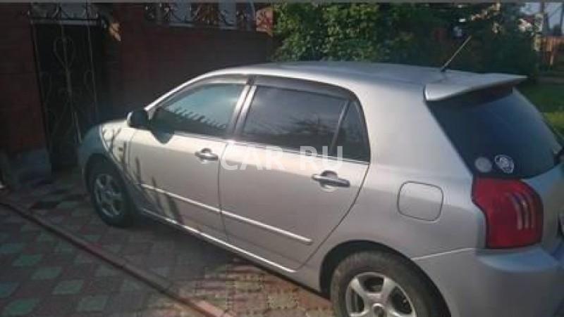 Toyota Allex, Балаганск