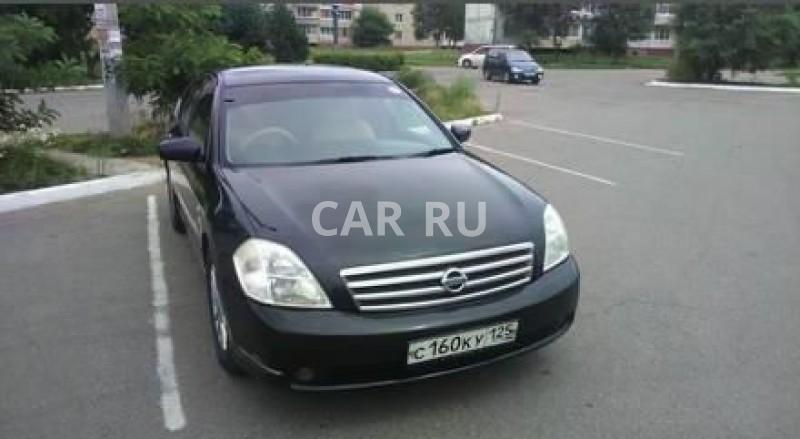 Nissan Teana, Арсеньев