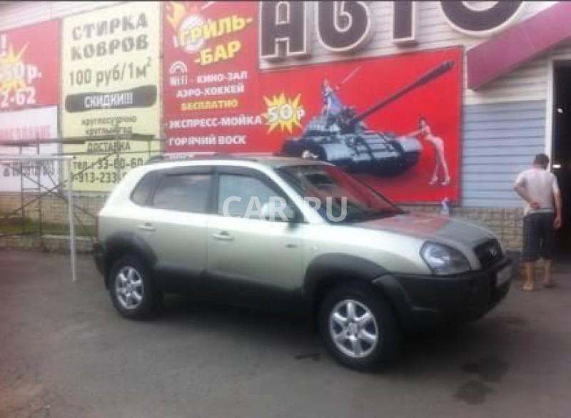 Hyundai Tucson, Барнаул