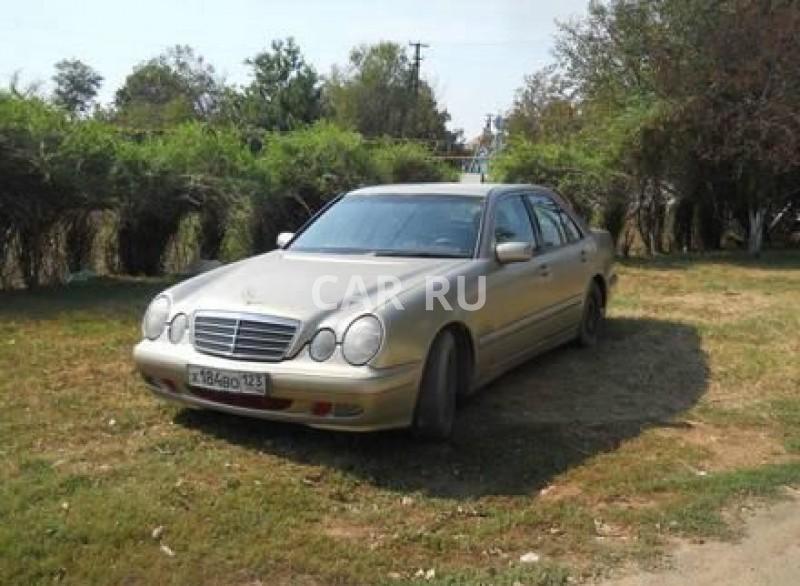 Mercedes E-Class, Ахтанизовская