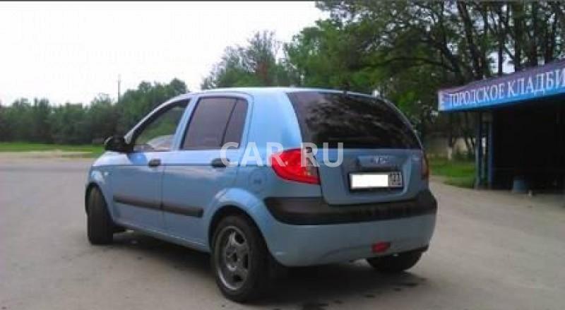 Hyundai Getz, Анапа