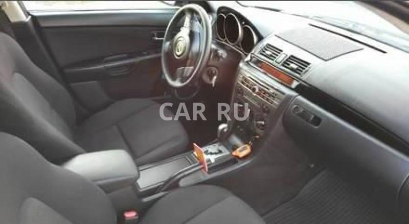 Mazda 3, Аскиз