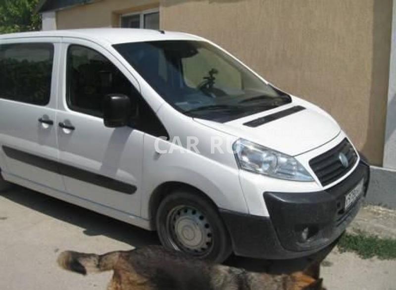 Fiat Scudo, Бахчисарай