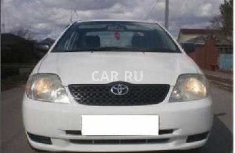 Toyota Corolla, Асино