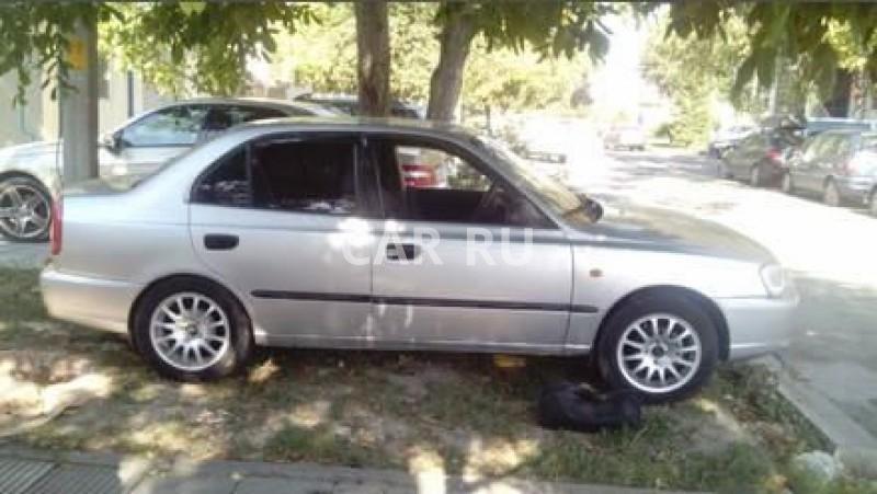 Hyundai Accent, Анапа