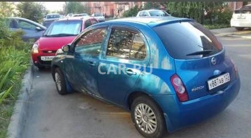 Nissan March, Апшеронск