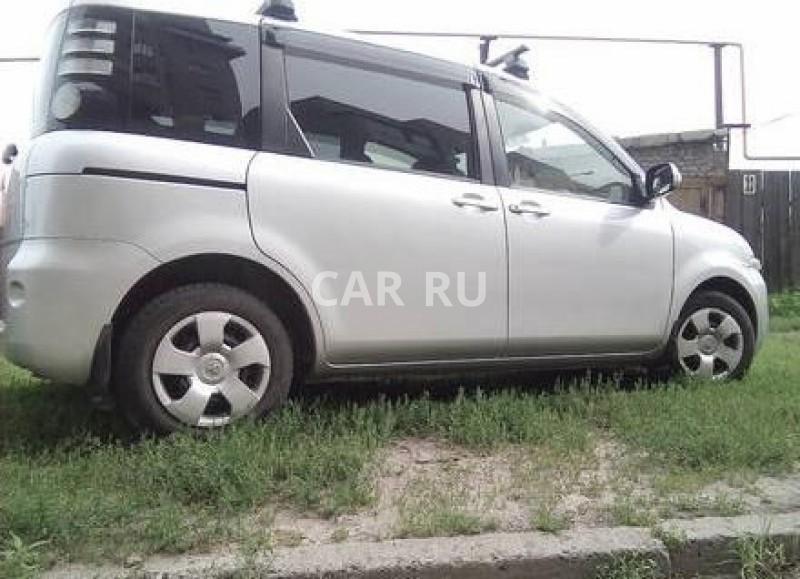 Toyota Sienta, Барнаул