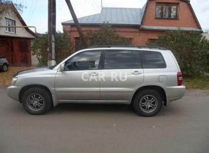 Toyota Highlander, Барнаул