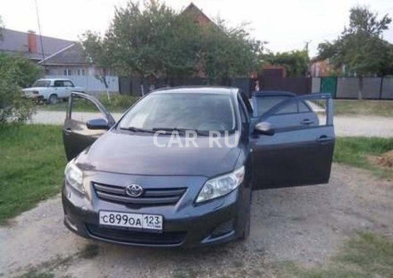 Toyota Corolla, Афипский