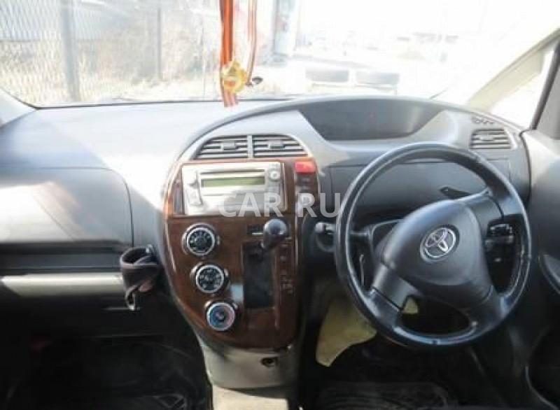 Toyota Ractis, Белово