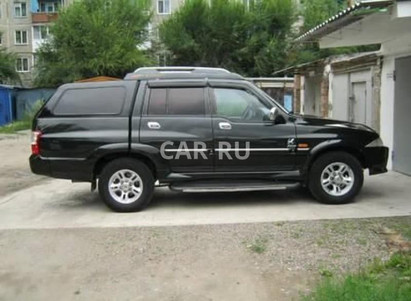 Ssang Yong Musso Sports, Абакан