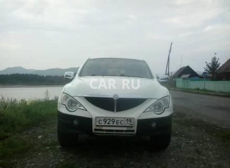 Ssang Yong Actyon Sports, Абаза