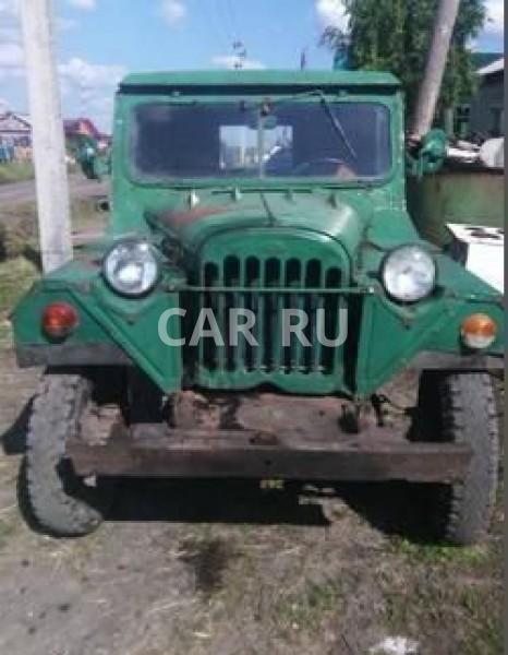 Газ 69, Барабинск