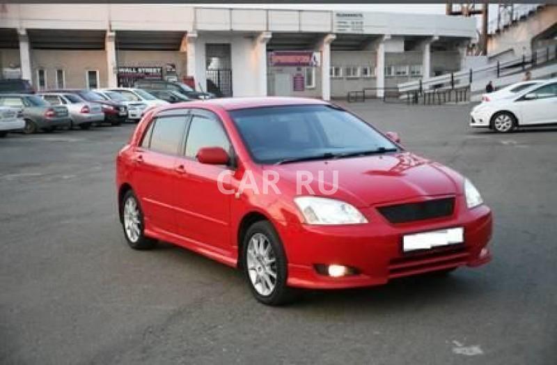 Toyota Corolla Runx, Абакан