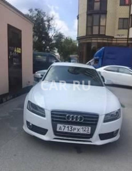 Audi A5, Анапа