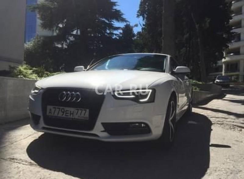 Audi A5, Алушта
