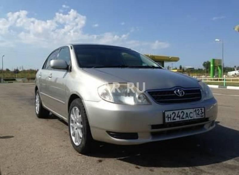 Toyota Corolla, Абинск