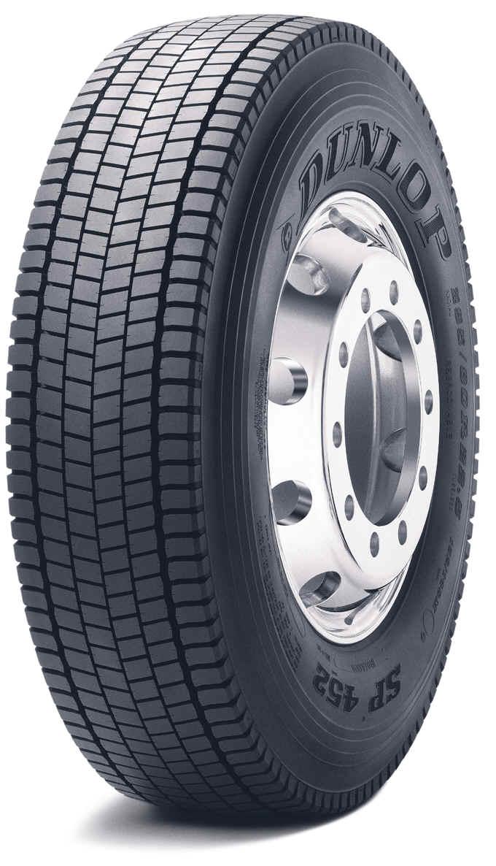 шина Dunlop SP 452 LHD
