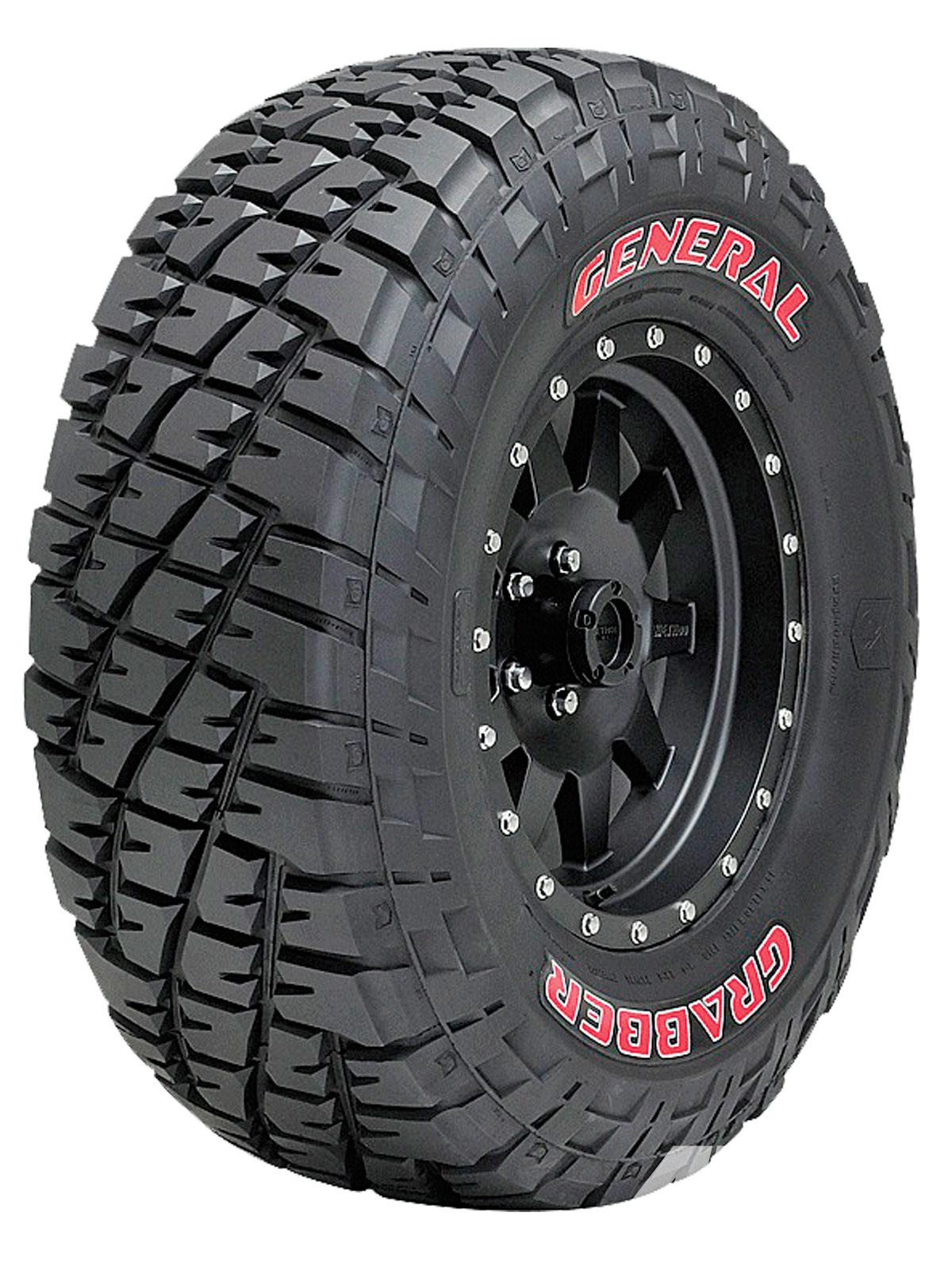 шина General Tire Grabber
